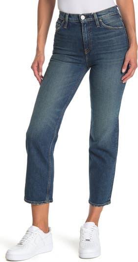 Jeans Remi High Waist Crop Straight Leg Jeans Hudson