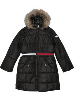 Удлиненная куртка-пуховик с нашивкой с пайетками (для больших детей) Tommy Hilfiger Kids