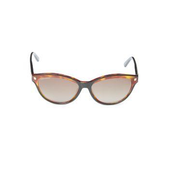 Солнцезащитные очки овальной формы 58 мм DSQUARED2