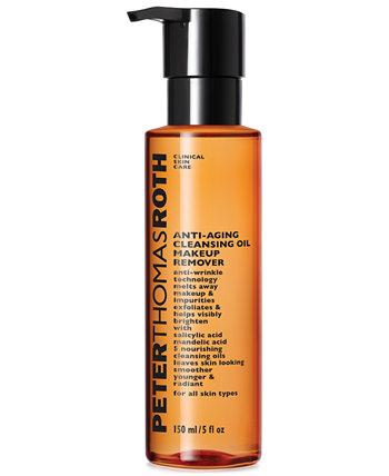 Антивозрастное очищающее масло для снятия макияжа, 5 унций. Peter Thomas Roth