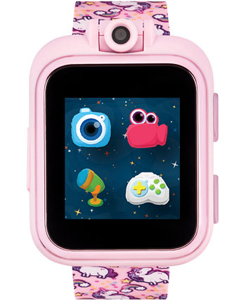 Дети PlayZoom Розовый Единорог Ремешок Сенсорный Экран Smart Watch 42x52mm ITouch
