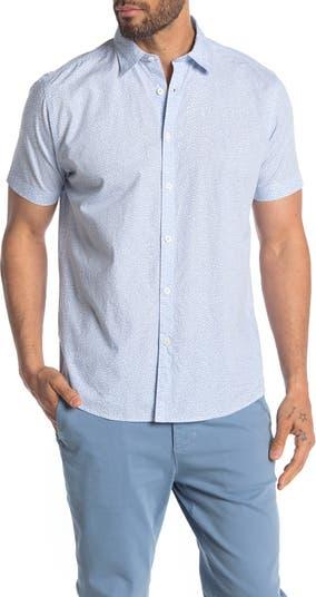 Рубашка стандартного кроя с короткими рукавами и цветочным принтом Dix COASTAORO