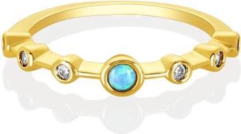 Штабелирующее кольцо Diamondette CZ Melinda Maria