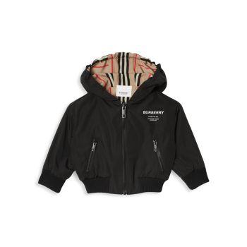 Двусторонняя куртка Tommy Icon для маленьких мальчиков Burberry