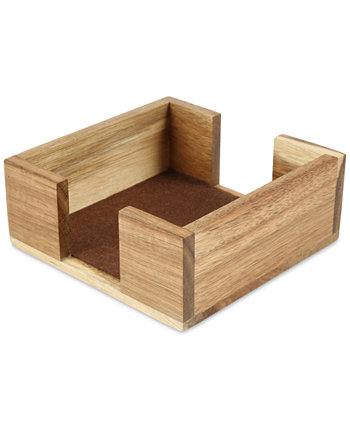 Квадратный держатель для деревянных подставок из акации THIRSTYSTONE