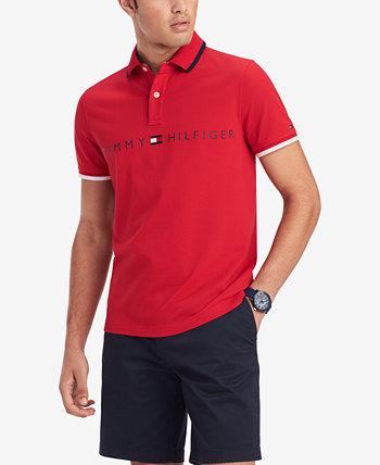 Мужская футболка-поло Tomas Custom Fit Tommy Hilfiger