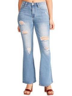 Расклешенные джинсы Penny с высокой посадкой Madden Girl