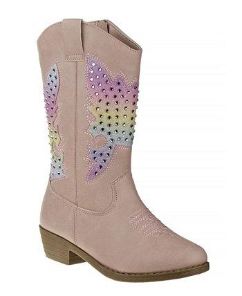 Ковбойские сапоги для маленьких девочек Kensie Girl