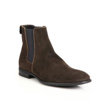 Замшевые ботинки челси Adrian Aquatalia