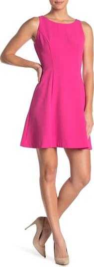 Платье без рукавов из крепа с пышной юбкой Eliza J