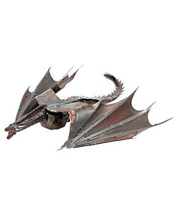 Набор для 3D-модели Metal Earth Iconx - Игра престолов Дрогон Fascinations