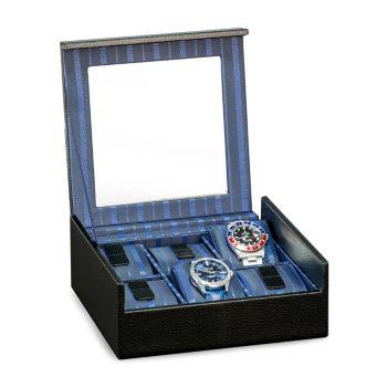 Текстурированный кожаный чехол для часов Bey-Berk