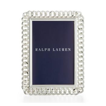 """Посеребренная рама Блейка 0 """" Ralph Lauren"""