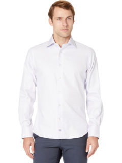 Классическая рубашка из тканого материала с трикотажной резинкой David Donahue