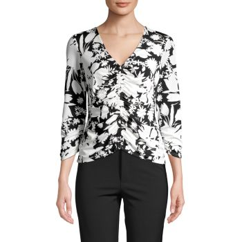 Блуза Moody со сборками и цветочным принтом Bailey 44