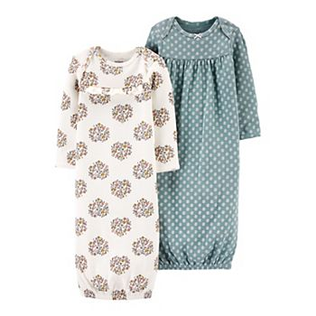 Baby Girl Carter's 2-Pack Sleeper Gowns Carter's