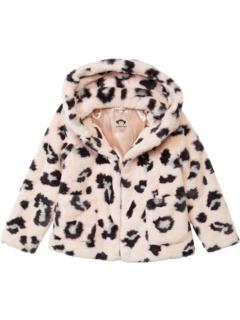 Cleo Faux Fur Coat (Little Kids/Big Kids) Appaman Adaptive Kids