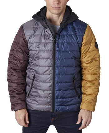 Легкая мужская куртка-пуховик Perry Ellis