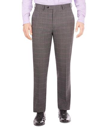 Мужской костюм в клетку классического кроя с раздельными штанами Sean John