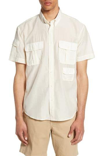 Служебная рубашка с короткими рукавами Standard Fit Billy Reid