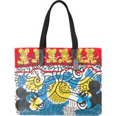 Сумка Coach X Disney Keith Haring 42 с мульти-принтом COACH