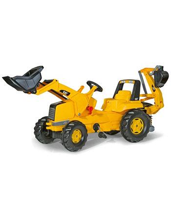 Toys Cat Kid Экскаватор-погрузчик с фронтальным погрузчиком Rolly