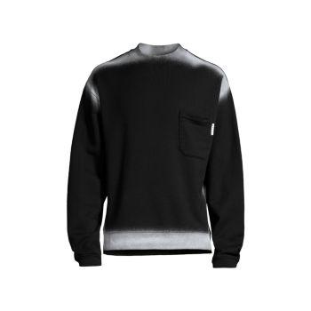 Airbrushed Outline Crewneck Sweatshirt MARNI