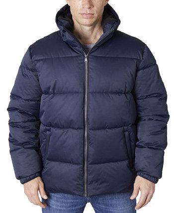 Мужская куртка-пуховик из плотного твила Perry Ellis
