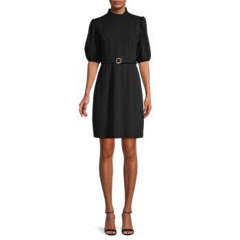 Платье с пышными рукавами и поясом Nanette nanette lepore