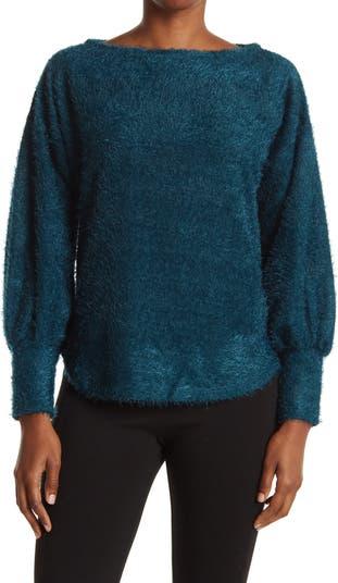 Вязаный пуловер с ресницами Chenault