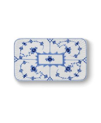 Рифленая обычная тарелка для масляной доски Royal Copenhagen