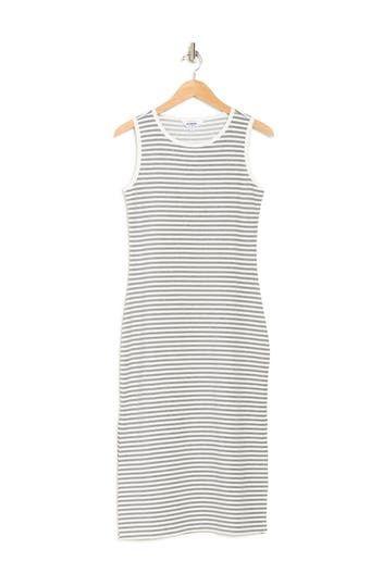 Платье миди в полоску без рукавов French Toast BB Dakota