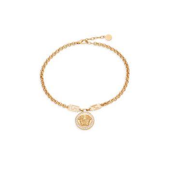 Ожерелье с кристаллами Медузы Versace