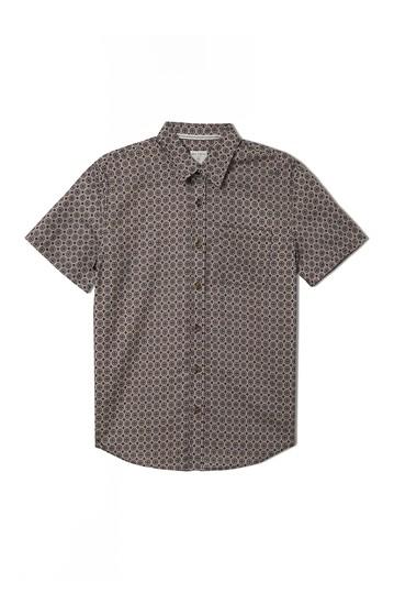 Spectrum Geo Print Short Sleeve Shirt Jack O'Neill
