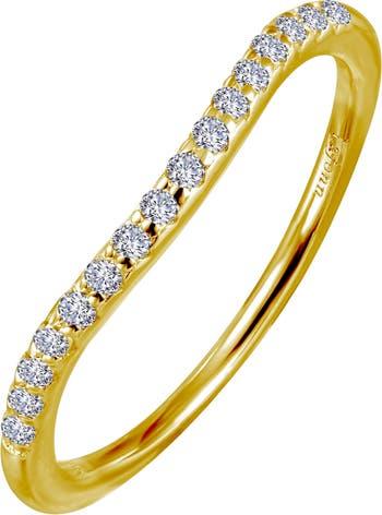Позолоченный браслет из стерлингового серебра 18 карат с имитацией бриллианта с микропаве для вечности LaFonn