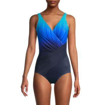 Belle Trois Ombré One-Piece Swimsuit Miraclesuit