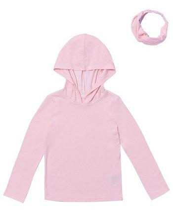 Футболка с капюшоном и повязкой на спину для маленьких девочек Epic Threads