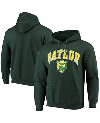 Мужская толстовка с капюшоном Green Baylor Bears Campus Pullover Fanatics