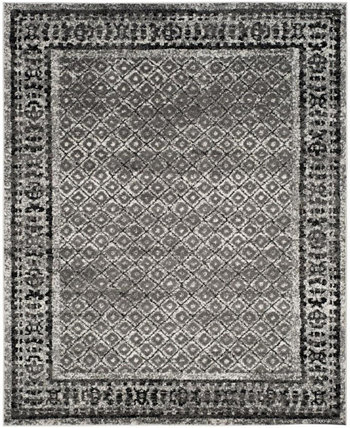 Adirondack Ivory and Silver 8' x 10' Area Rug Safavieh