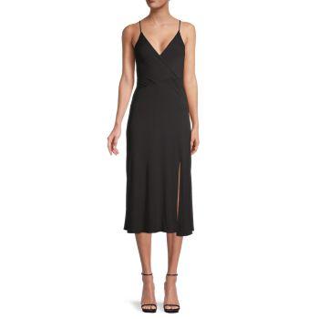 Платье-комбинация с тонкими бретелями Socialite