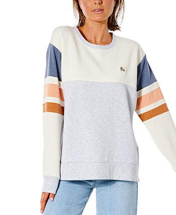 Джуниорский свитер с полосатыми рукавами Glider Rip Curl