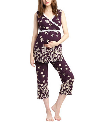 Пижамный комплект для беременных Kimi & Kai Loren Kimi + kai