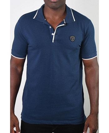 Мужская базовая футболка с коротким рукавом Botton Polo Members Only