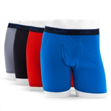 Big & Tall Hanes® 4-pack ComfortBlend Fresh IQ Tagless Boxer Briefs Hanes