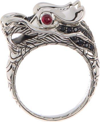 Кольцо Legends Naga Lava - Размер 11 JOHN HARDY
