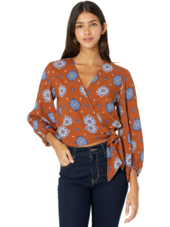 Long Sleeve Wrap Shirt B4-1502 Rock and Roll Cowgirl