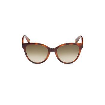 """Солнцезащитные очки """"кошачий глаз"""" 54 мм Chloe"""
