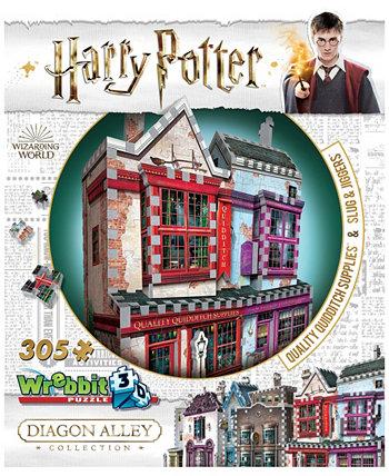 Гарри Поттер Daigon Alley Collection - Качественная утварь для квиддича, 3D-головоломка «Слизни и джиггеры» - 305 штук Wrebbit
