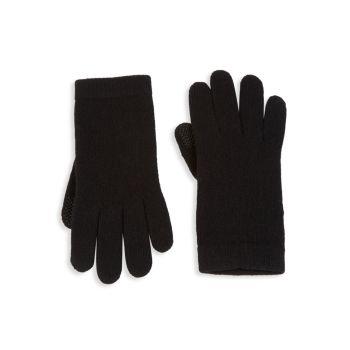 Вязаные перчатки из кашемира Tech Portolano