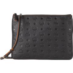 Кожаная сумка через плечо Klara с монограммой MCM